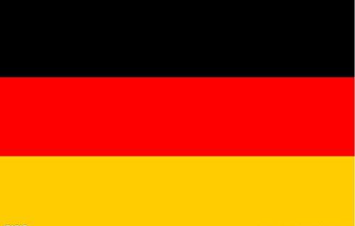 京潮港 旗帜 三号德国旗 三号德国国旗 192cm*128cm 3