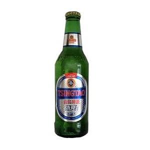 康迪 夏季 青岛啤酒 青岛冰爽型啤酒330ml*24瓶 整箱销售