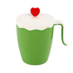 创意杯子 水杯 茶杯 瓷杯 爱心杯 结婚礼物杯子 可爱杯 带盖单个