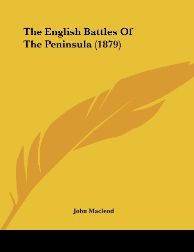 penbat将进酒简谱-English Battles Peninsula 1879