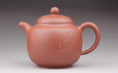 之府 底槽清紫砂壶 国家级高级工艺美术师茶壶 (秦权)-图片