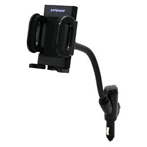 PeriPower 沛锐宝 8PPGLH010 USB雪茄頭固定架 手機/PDA/GPS/MP3/MP4固定座