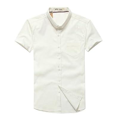 正反面 商务休闲全棉短袖衬衫 2335 男士 男装 男式 男款 衬衣 短袖
