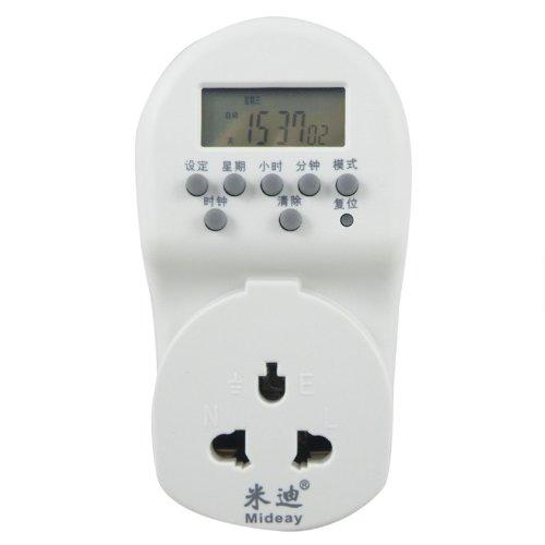 米迪md-268 24小时电子式定时器(白色)
