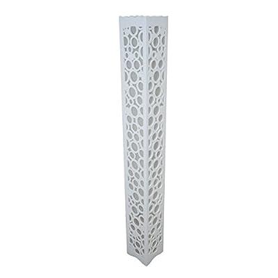最尚 暖光灯管 高120cm xm120-14 圆圈 雕花落地灯