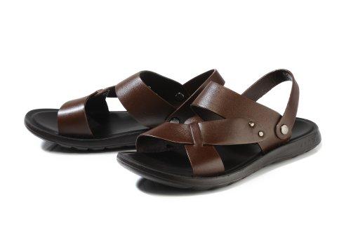 Camel Active 骆驼动感 德国骆驼沙滩鞋 牛皮凉鞋英伦男鞋真皮凉拖鞋 BL7502
