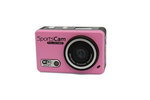 嘉德诺  WIFI高清版 防水摄像运动机 户外运动摄像机 1080P高清拍摄 wifi防水行车记录仪 拍照录像 极限运动拍摄 防水运动摄像机 (国产版配4G内存, 红色)-图片