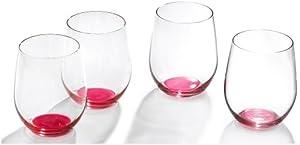trendy glasses  four glasses