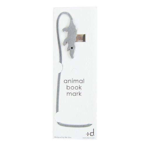 d d-131-cr高档皮革可爱小动物书签 鳄鱼