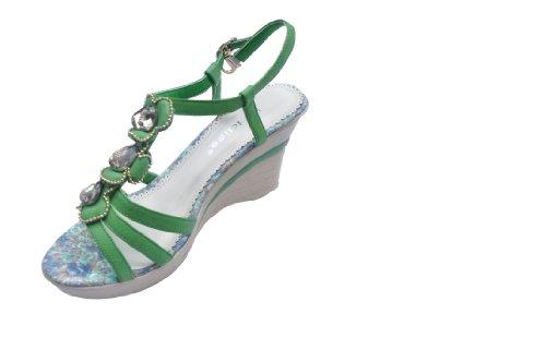 女童凉鞋 公主鞋 松糕鞋凉鞋