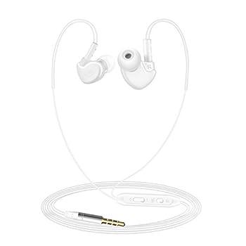 iphone5/6线控苹果带麦克风适用耳机入耳耳机华为圆领魅族等小米手机短外套女图片