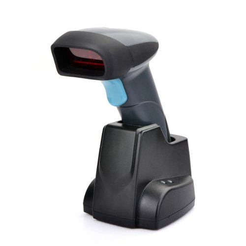H018条码扫描枪 无线扫描枪快递专用扫描器扫码枪激光带底座存储