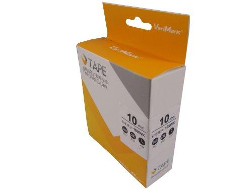 VariMarK 威码 10XWK 标签机专用色带 10mm白底黑字