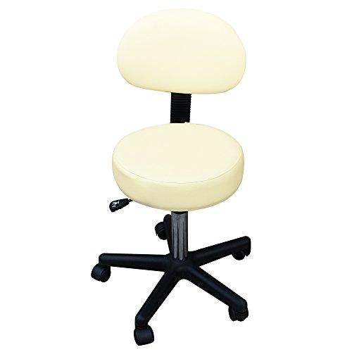 GESS 德国品牌 GESS05 技师椅 美容椅 可升降转椅 可移动转椅 带靠背-图片