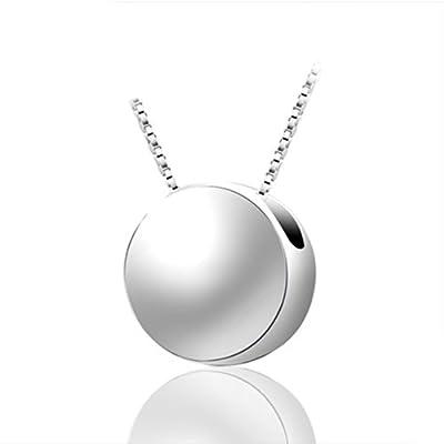 银匠世家 925纯银 可爱许愿银豆豆锁骨项链 继承名款