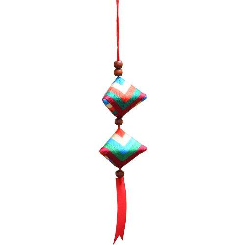 端午节中药香袋香囊散件套材 亲子童玩(可制作2个粽子形状的香包)