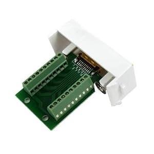 VGA音视频面板 免焊接VGA面板 计算机面板 特价小组,VGA音视频面
