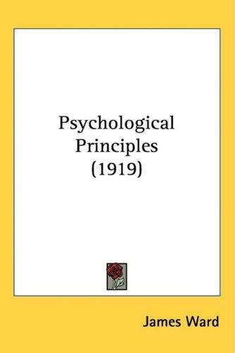 Psychological Principles 1919