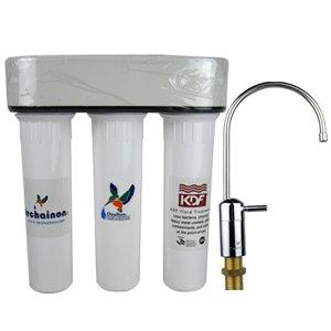 促销!免费送货!另送原装滤芯!Doulton英国道尔顿净水器HIP3(M12)UCC+KDF 纳米抗菌台下型直饮机-图片