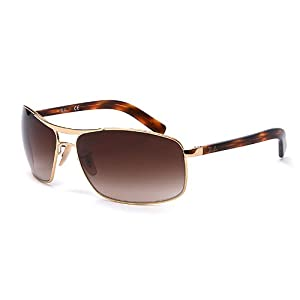 再降价 Ray-Ban 雷朋 经典时尚男女款太阳镜 RB3470E 001/13 茶色渐变镜片 450元包邮