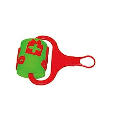 七色花 幼教幼儿园手工diy绘画玩具画刷滚轮套滚轮画