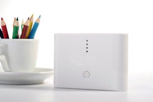 香港QH泉浩 移动电源 30000毫安 两种颜色由你选择 适用苹果IPHONE4 IPHONE4S IPHONE5 IPHONE5C IPHONE5S/iPad/iPod/三星/HTC/LG/华为/中兴/小米/魅族/酷派/MOTO/诺基亚 所有智能手机与移动设备 (白色)-图片