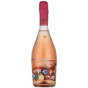 意大利进口 Cavicchioli 意大利之花桃红气泡葡萄酒750ml  ¥68