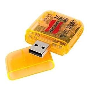 飞毛腿  多功能读卡器 可读写SD,MICROSD,MS,XD,TF等各类闪存卡