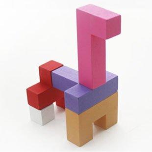 umu 优木 百变积木 创意立体拼图 3岁儿童益智玩具 无铅环保无味