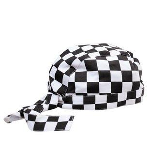 金伟乐 西餐厅帽子 餐厅厨师帽子 工作帽 飘带帽 头巾