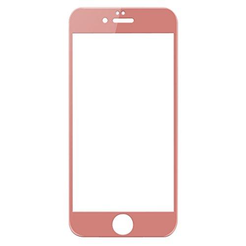 尚劢保护膜全屏覆盖钢化玻璃膜护屏抗蓝光手机膜适用于苹果iPhone6/6s (玫瑰金)