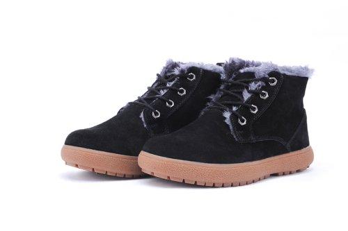 IVG 秋冬新款 男士短靴 休闲棉靴 潮流时尚雪地靴 户外运动保暖靴
