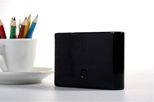 香港QH泉浩12000mAH 多功能 移动电源12000 充电宝 (适用于所有USB接口的IPHONE4 IPHONE4S IPHONE5 IPHONE5C IPHONE5S 三星 HTC 摩拖罗拉 诺基亚 小米 中兴 天语等各种智能手机 及 MP3 MP4 PDA PSP 数码相机 掌上游戏机 蓝牙设备) 12000 烤漆粉色 绿色 蓝色 黑色 白色 (黑色)-图片