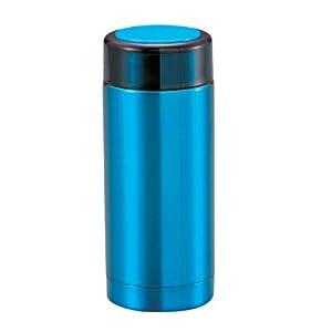 日本進口Pearl Life(珍珠生活)M-5305 炫彩不鏽鋼保溫保冷杯(暗青色)200ml