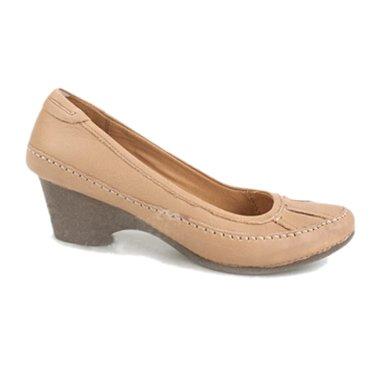 其乐 低跟女单鞋