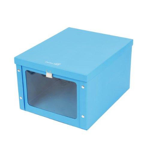 Creative House纸质贴窗折叠收纳盒-蓝色CB4335-1-图片