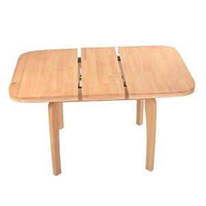 【黑白调】欧式餐桌子/进口实木时尚简约环保吃饭桌子