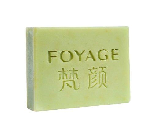 FOYAGE 梵颜 黄瓜牛奶手工皂 Cucumber milk soap 80g 洁面雪肤皂(深层补水 清洁祛痘 晒后修护)