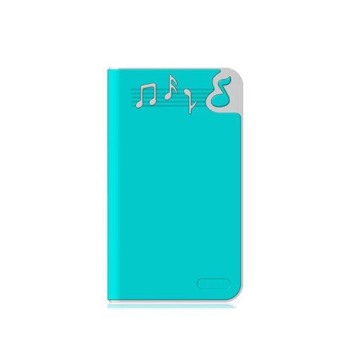香港QH泉浩10400mAH 多功能 移动电源10400 充电宝 (适用于所有USB接口的IPHONE4 IPHONE4S IPHONE5 IPHONE5C IPHONE5S 三星 HTC 摩拖罗拉 诺基亚 小米 中兴 天语等各种智能手机 及 MP3 MP4 PDA PSP 数码相机 掌上游戏机 蓝牙设备) 10400悦动音符 (蓝色)-图片