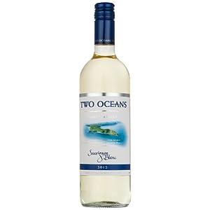 南非 Two Oceans Sauvignon Blanc 双洋白苏维翁白葡萄酒   750ml 49元