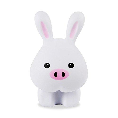 自由星 给力兔充电台灯 可爱动物led 创意卡通学生学习卧室床头护眼