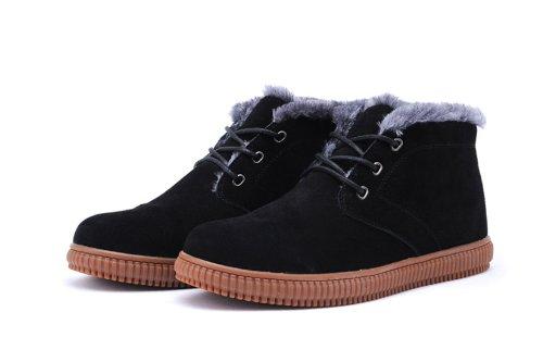 IVG 秋冬新款 男鞋 男靴 短靴 棉靴 雪地靴 时装靴