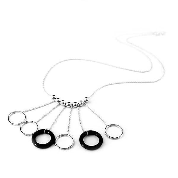 925纯银项链-黑白天使