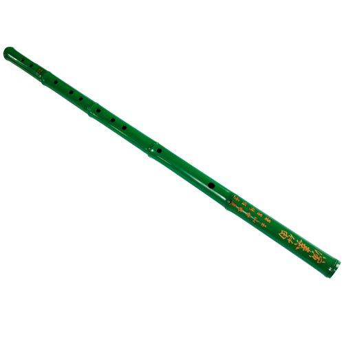 玉屏箫笛 YPXD 6孔绿色演奏笛子