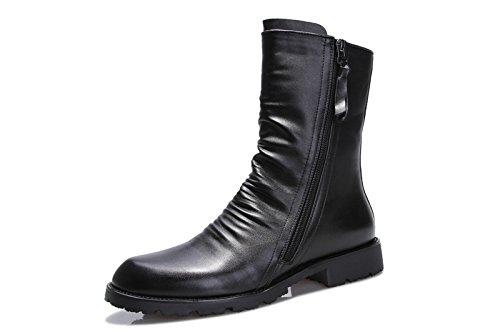 Unbeaten 英伦时尚 军靴 长靴 马丁靴 舒适高端 尊贵奢华 商务流行 皮鞋 高帮靴 个性 时装靴 男靴