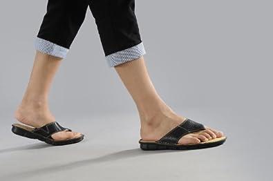 古奇天伦0304 头层小牛皮人字拖 男式沙滩鞋 夹趾拖鞋