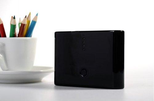 香港QH泉浩20000mAH 多功能 移动电源20000 充电宝 (适用于所有USB接口的IPHONE 三星 HTC 摩拖罗拉 诺基亚 小米 中兴 天语等各种智能手机 及 MP3 MP4 PDA PSP 数码相机 掌上游戏机 蓝牙设备) 20000 (黑色)-图片