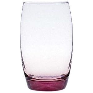 Luminarc弓箭乐美雅350ml萨通凝彩系列直身杯六只装 ¥39.9