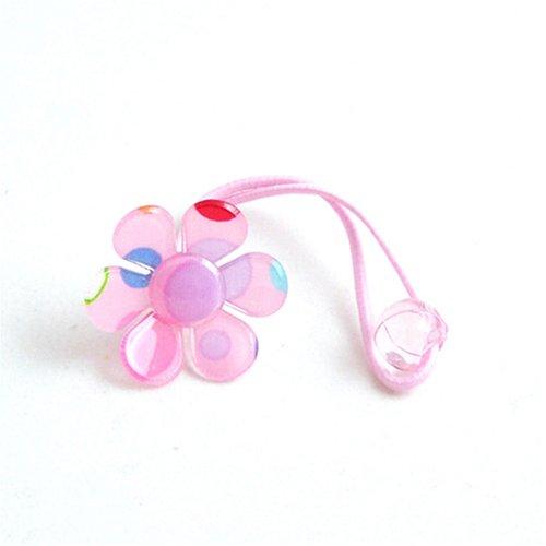 韩国宝宝-发梳可爱粉色小花图片