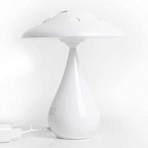 孙小圣 蘑菇净化空气台灯 LED学习充电台灯学生宿舍创意床头卧室护眼学习空气净化器 白色-图片